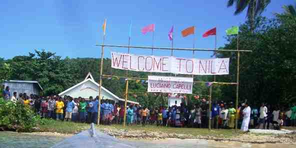 WELCOME SIGN TO NILA