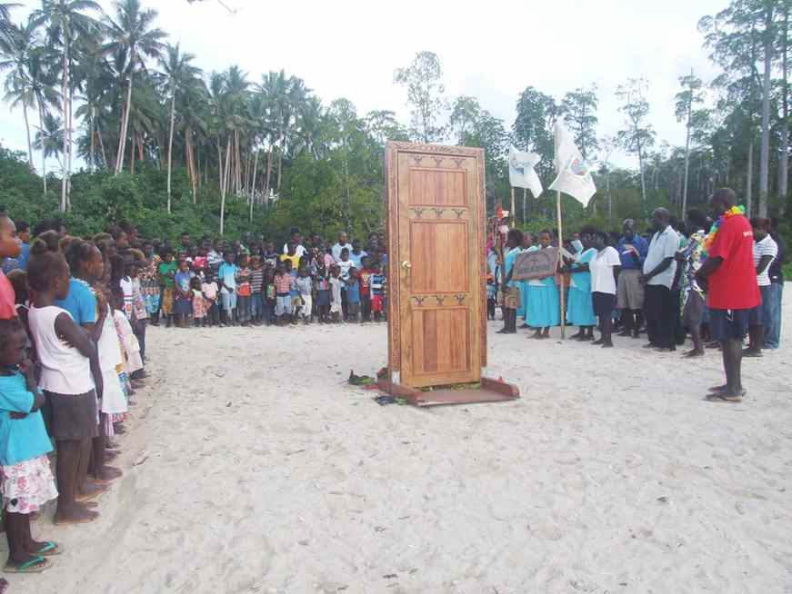 Holy Door Arrived In Peba Zone In Sirovanga