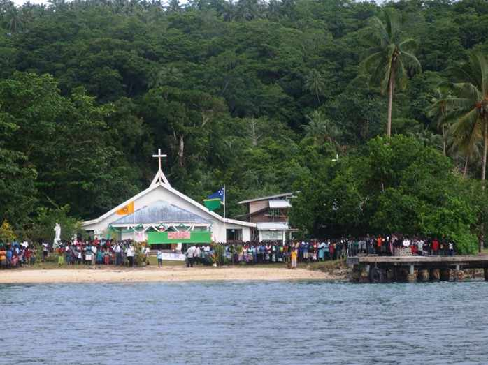 Nila Station Welcome The Holy Door On Their Shore