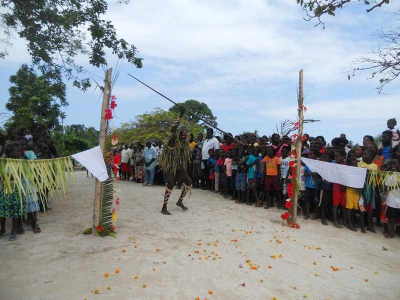 Welcome The Holy Door In Gaomai, Shortland Islands