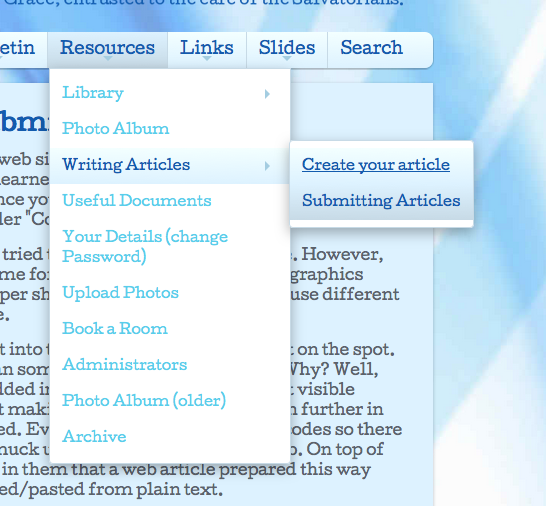 create your article