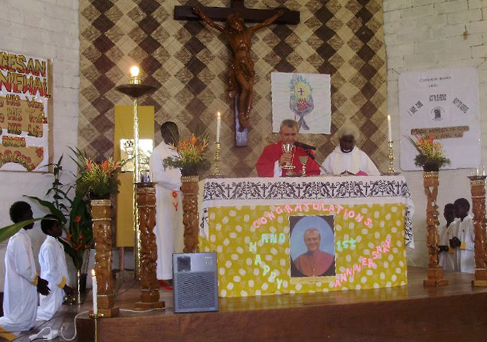 Bishop Capelli- Anniversary Mass